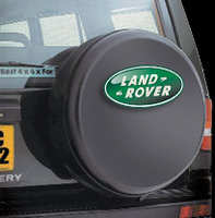 4 x 4 Spare Wheel Covers