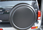 Land Rover Freelander Black Semi-Rigid Spare Wheel Cover