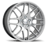 Set of 4 Riva DTM Hyper Silver SUV Alloy Wheels